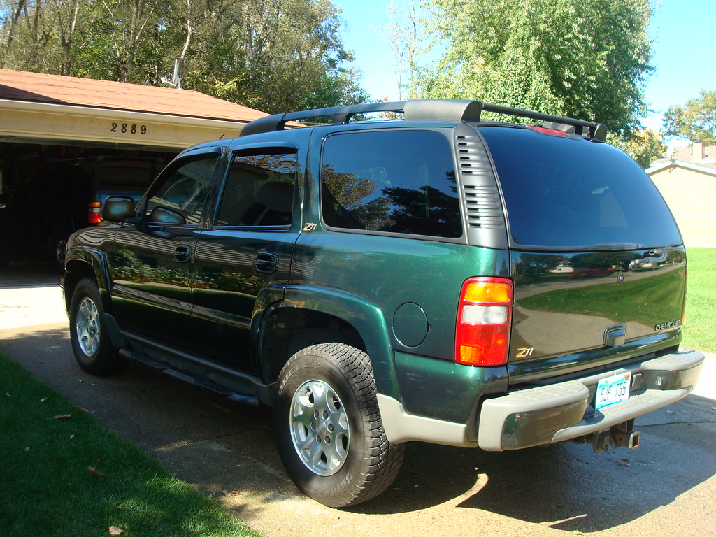 Lifted 2002 Tahoe >> 2002 Chevy Tahoe Z71. Forest Green | Jeff Young | Flickr
