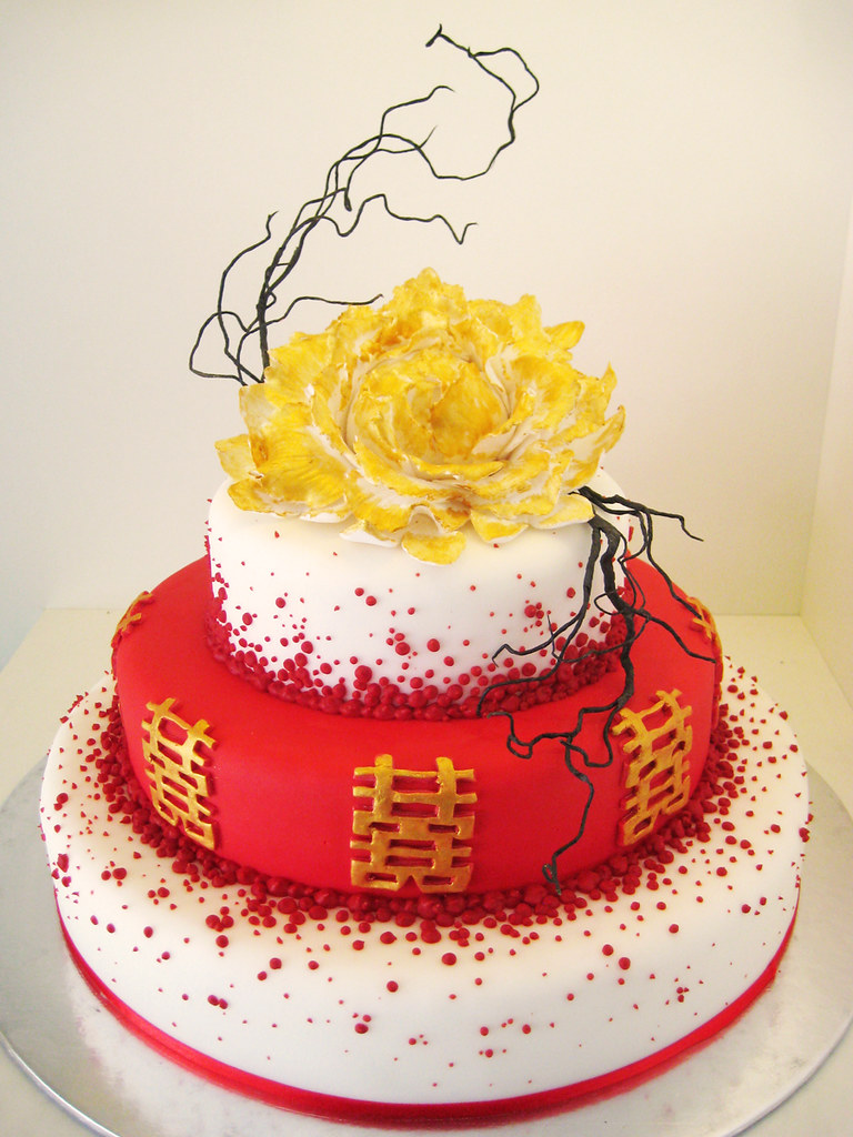 l\'amour chinoise   a very chinese inspired wedding cake. i w…   Flickr