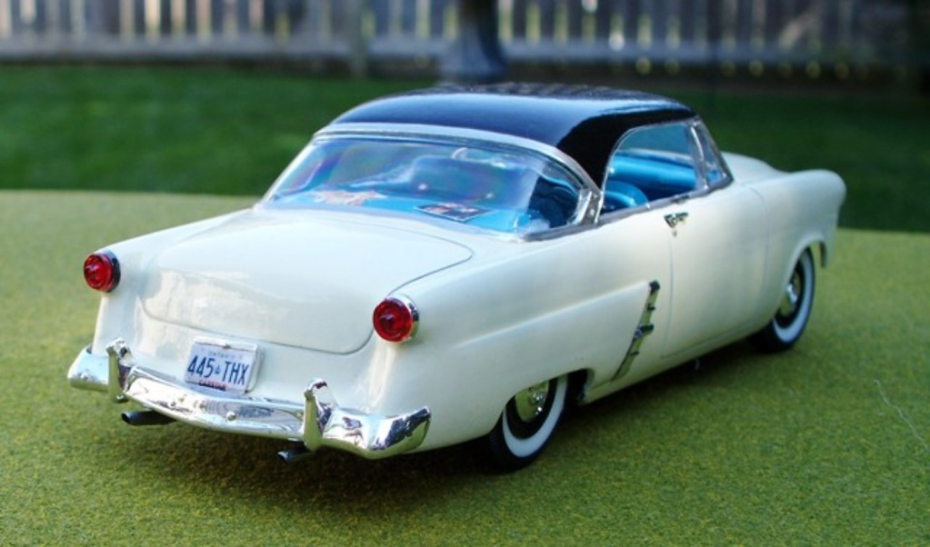 1953 Ford Victoria Hardtop model car rear view   This ...