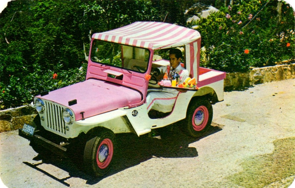 Jeep Surrey Gala At Hotel Las Brisas Acapulco Mexico