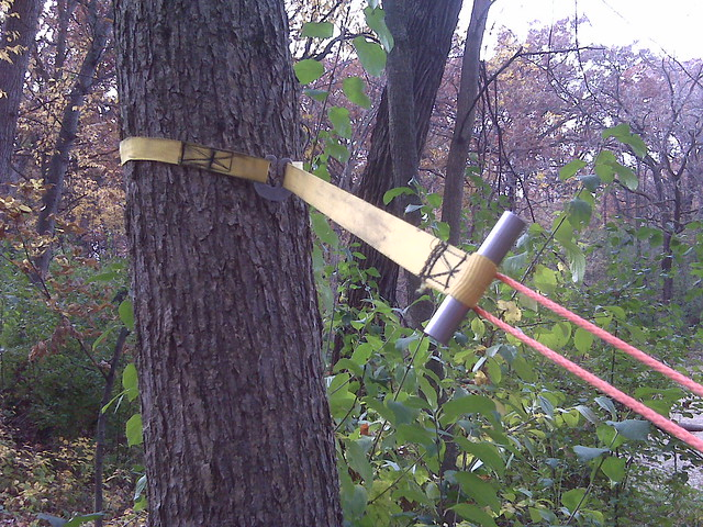 Diy Tree Hugger With Dutch Clip Diy Toggle And Whoopie