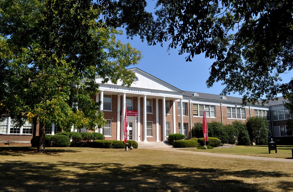 University Of Alabama Natural Sciences