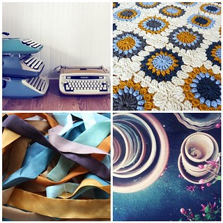 colour palette : turquoise & tan | by emma lamb : living in colour