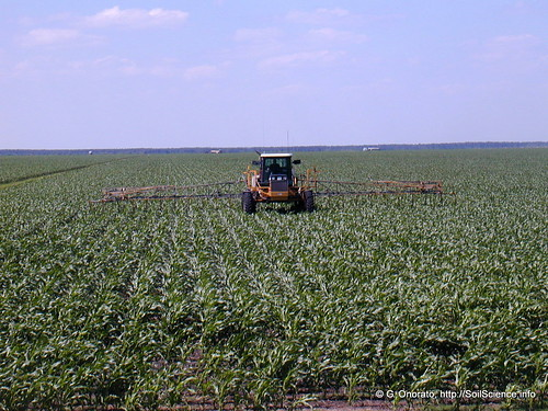 Herbicide Application to Corn (1) | by SoilScience.info