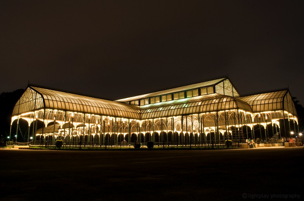 the famous glass house at bangalore