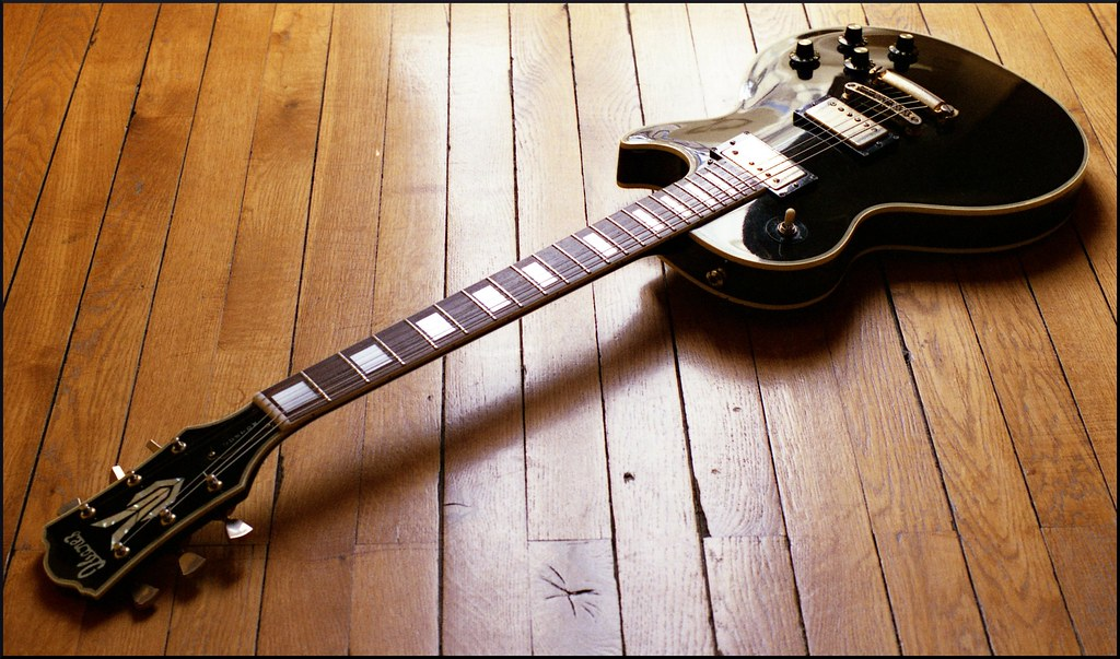 1976 Ibanez Les Paul Custom Black Beauty Copy The Lawsu Flickr