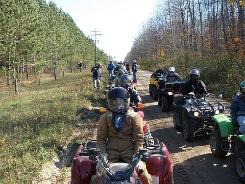 Fall ATV Ride, Frederic Mi | by Grayling Visitors Bureau