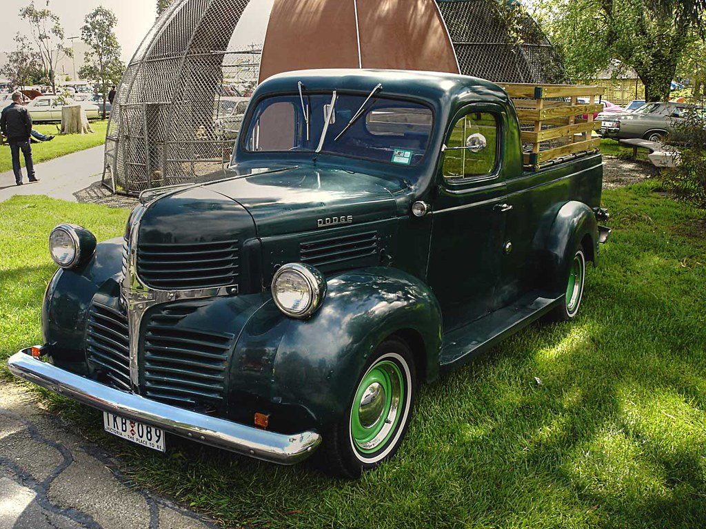 1947 Dodge Pickup Truck | An old Dodge truck still in ...