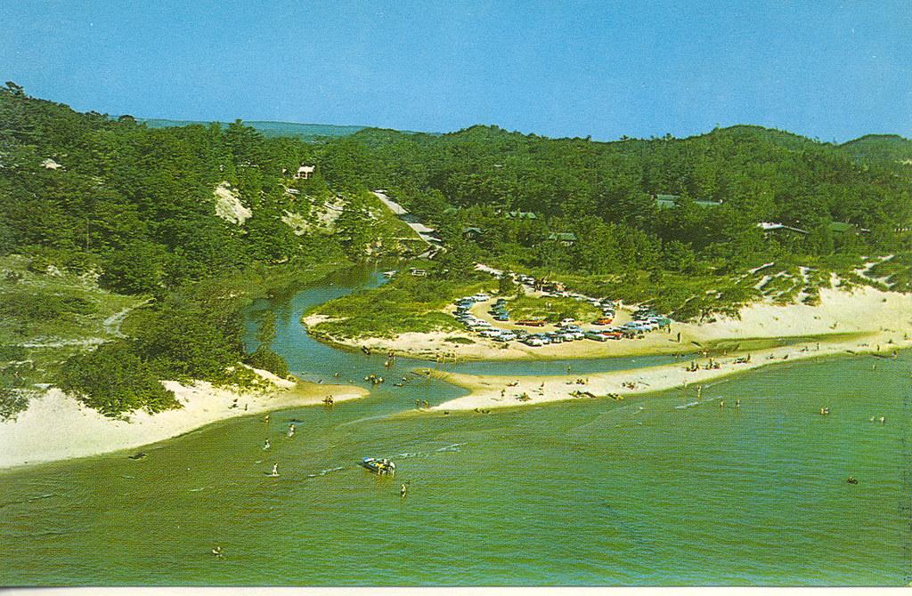 Stoney Lake MI Circa 1960 GREAT Aerial View at beautiful L ...