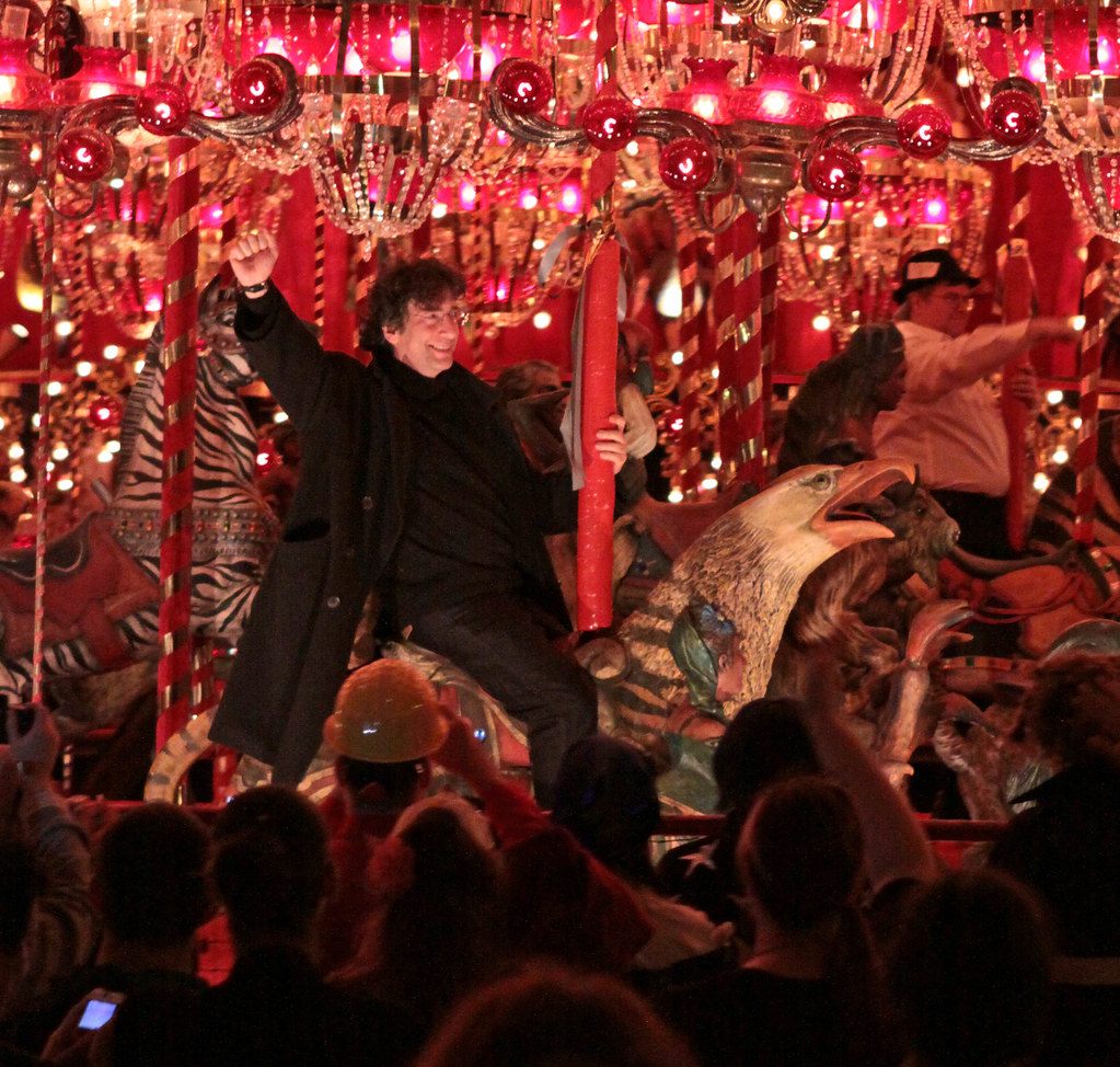 american gods with Neil Gaiman at House on the rock | Flickr