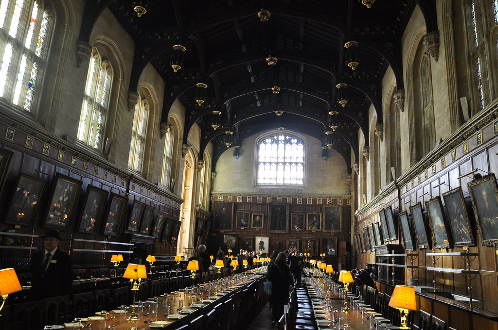 Comedor universidad de oxford harry potter inglaterra for Comedor harry potter