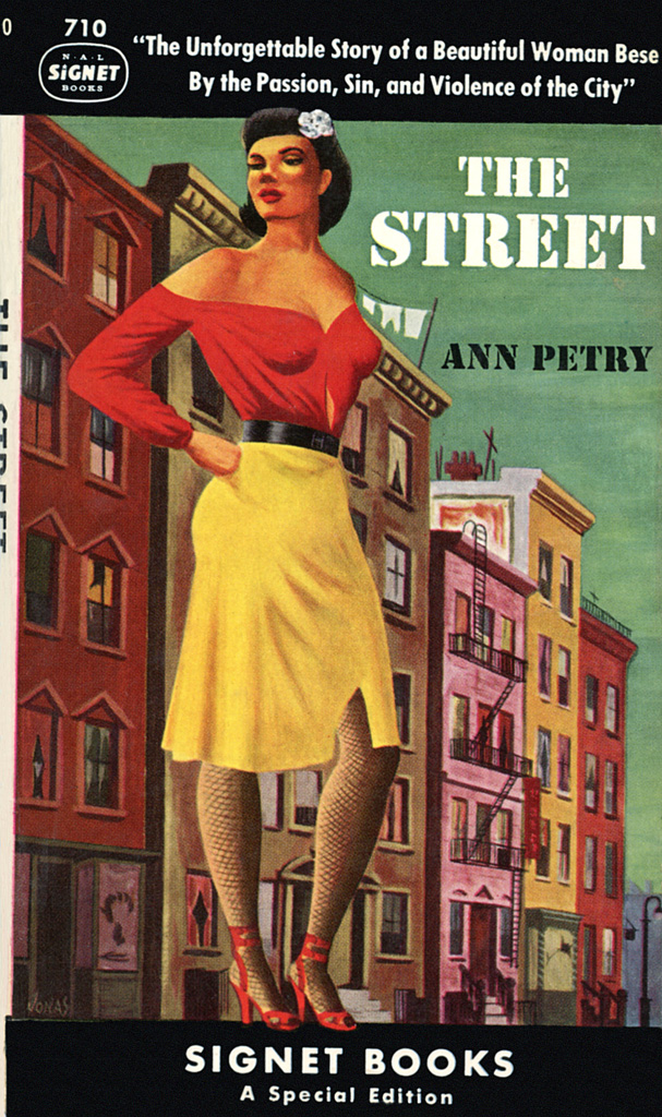 the street ann petry My idea to adapt ann petry's novel, the street, harkens back to a trans-formative experience i had with the book during my first year of college english 2900: race and social structures.