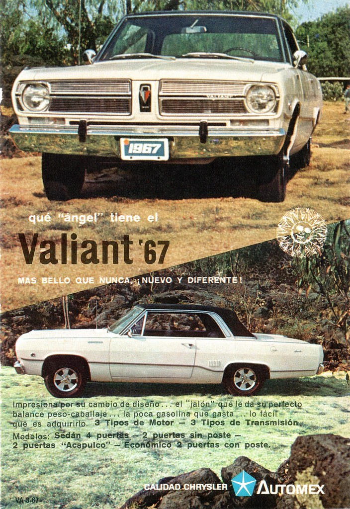 1967 Valiant Acapulco Mexico This 1967 Valiant With A