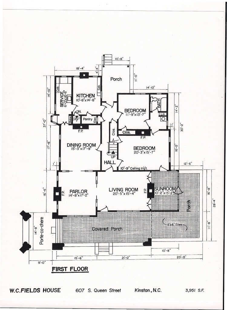 Beetlejuice house layout
