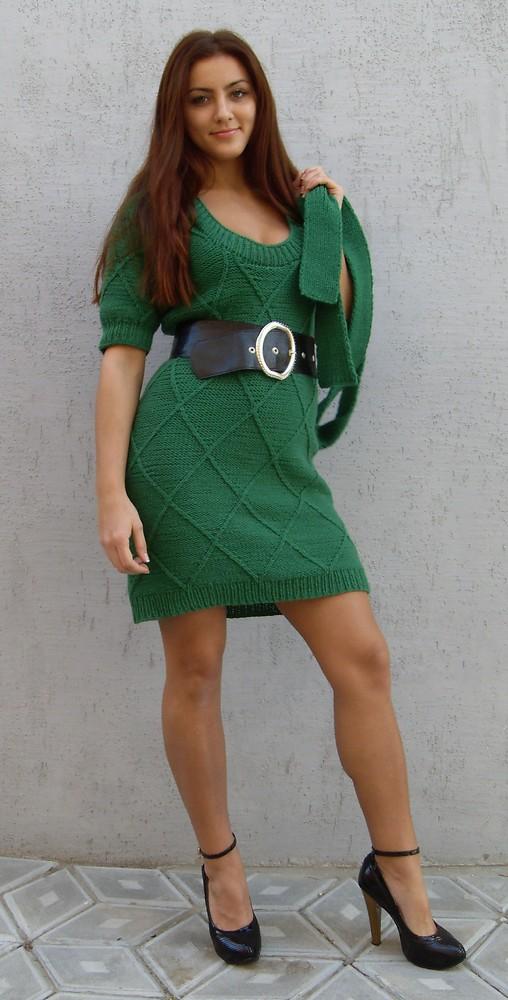 Tanya Zorya_green dress   Antonina Kuznetsova   Flickr