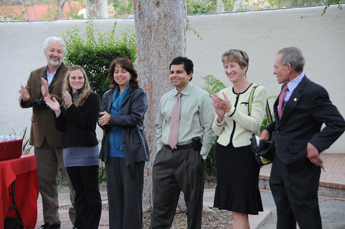 CI faculty recognized during the Study Abroad Celebration with President Rush | by California State University Channel Islands