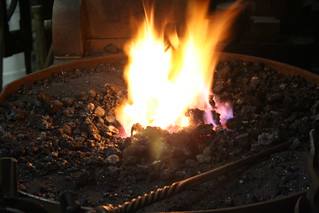 coal fire | by red alder ranch