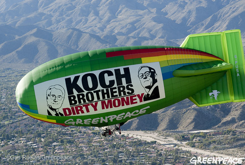 Koch Brothers Deliver Dirty Money Meeting | by Greenpeace USA 2015