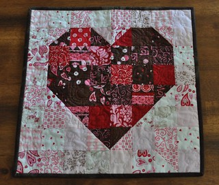 finished heart quilt | by vickivictoria