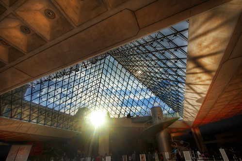 Under the Louvre | by Stuck in Customs