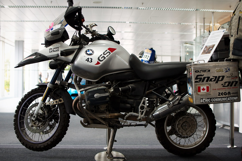 Long Way Round Charley Boorman S Bmw R 1150 Gs Adventure