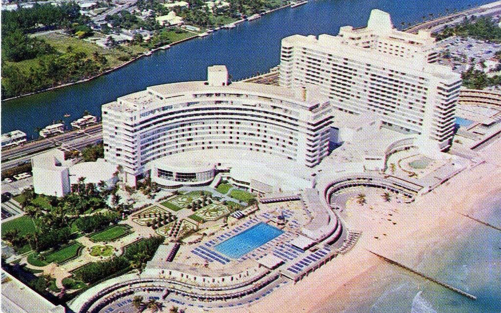 Fontainebleau And Eden Roc Hotels Miami Beach Fl William Bird Flickr