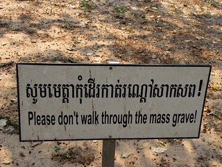Choeung Ek - Killing Fields - Respect the Mass Graves | by FollowOurFootsteps