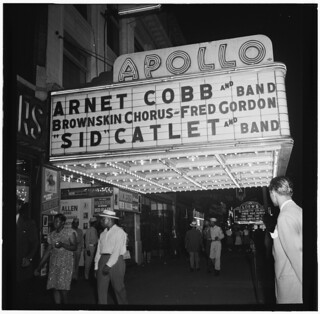 [View of the Apollo Theatre marquee, New York, N.Y., between 1946 and 1948] (LOC) | by The Library of Congress