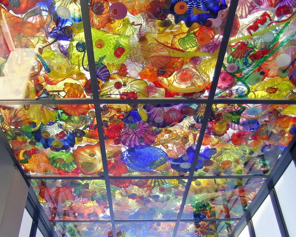 Bridge of glass to museum by dale chihuly tacom