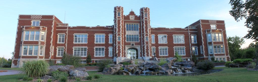 Lockwood Hall at Kansas Wesleyan University in Salina
