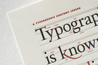 A Typographic Anatomy Lesson | by splorp