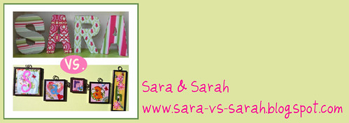 svs signature | by Sara vs. Sarah