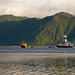 Shell Oil arrving in Unalaska