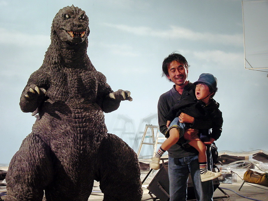 Not Exactly A Budding Fan Of Godzilla From Norman England