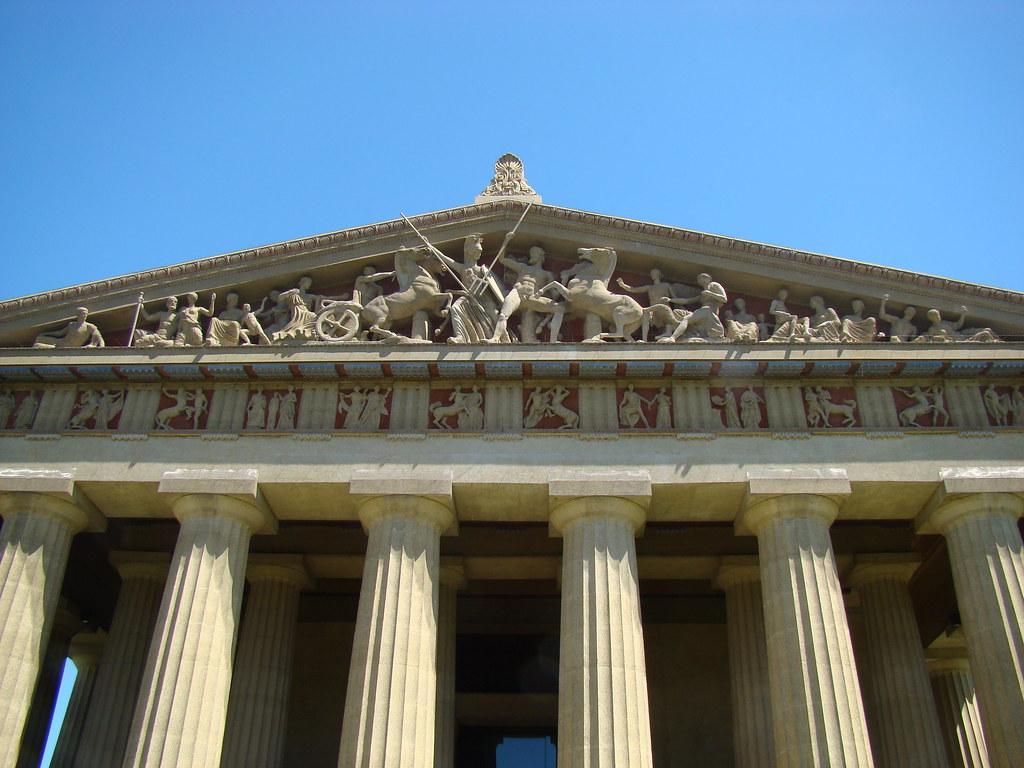 parthenon west pediment