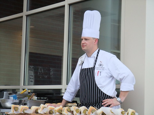 Chef Kevin Ball of the Polaris Hilton | by swampkitty