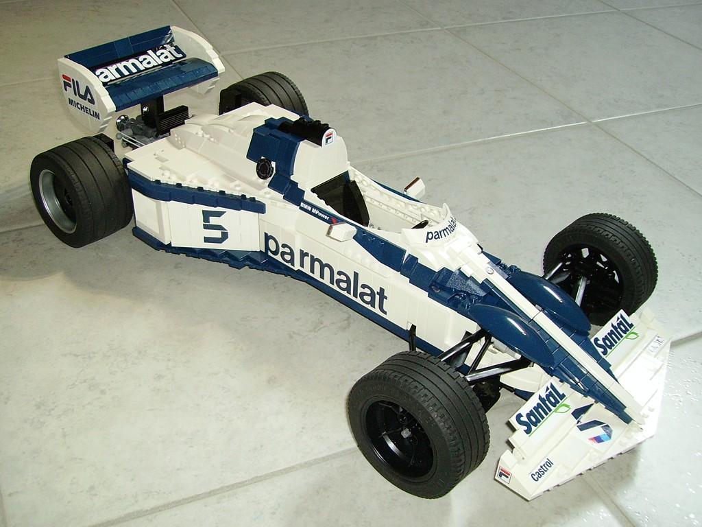 LEGO Brabham BT52 final 021 | 1983 Formula 1 car Brabham BT5… | Flickr