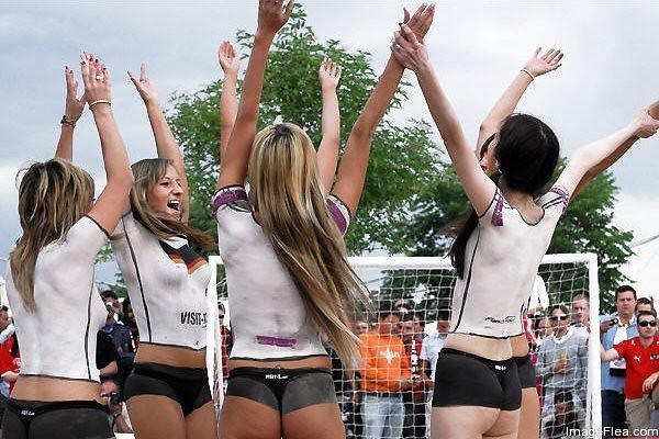 Soccer Body Paint