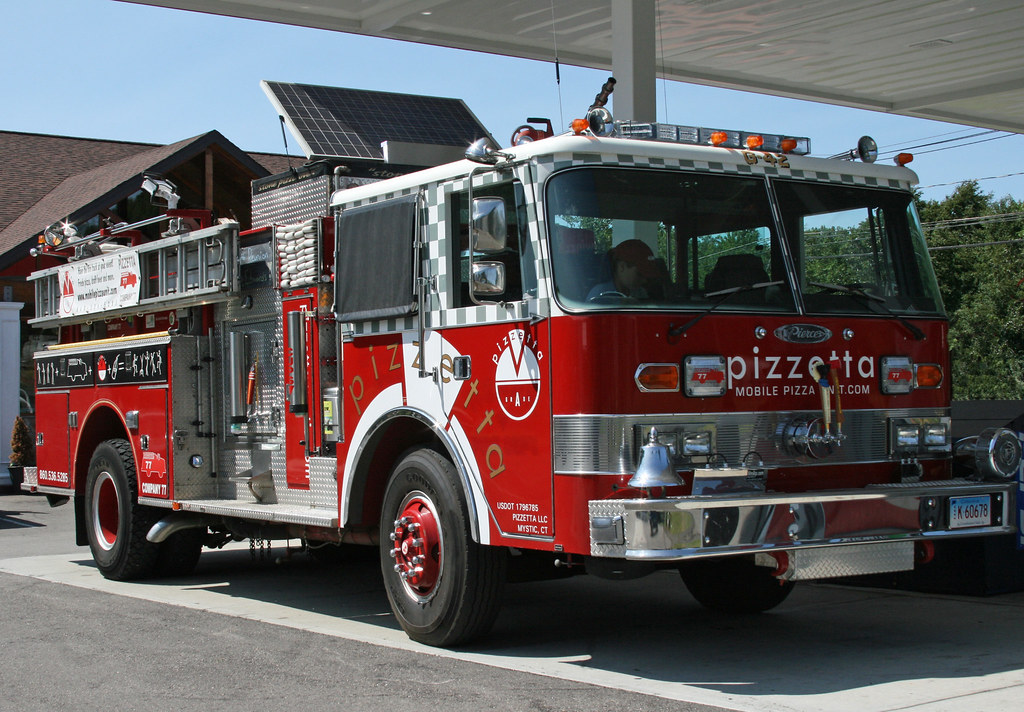 Pizza Fire Truck | A pizza delivery fire truck - now that ...