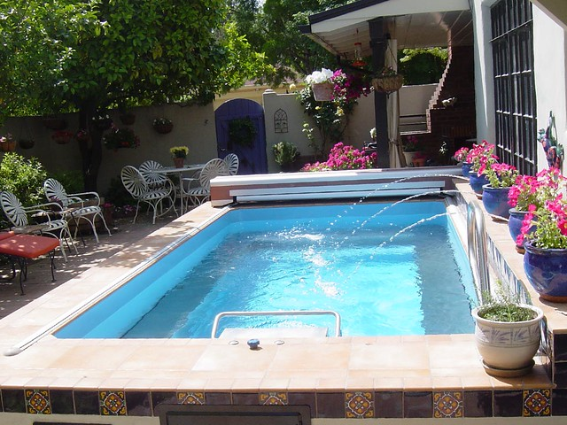 Endless pool flickr photo sharing for Garden pool covers