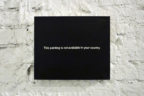 """This Painting is Not Available in Your Country"" 
