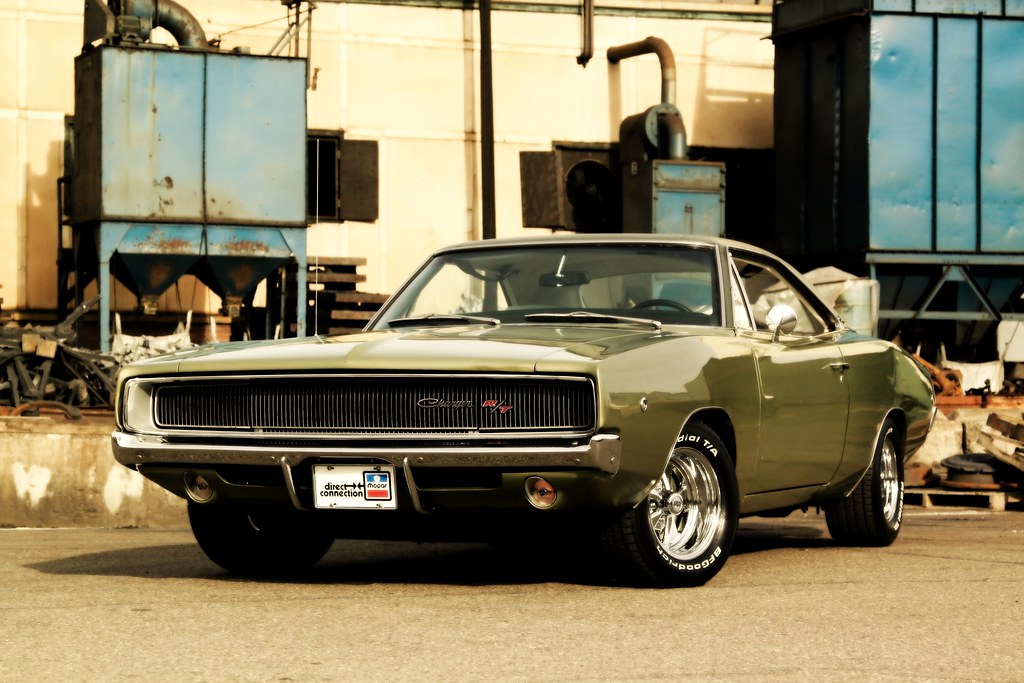 1968 Dodge Charger R T One Perfect Perspective Somehow