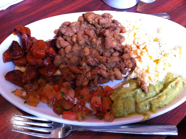 Huevos rancheros with chorizo | Flickr - Photo Sharing!