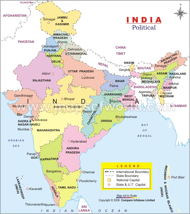 India Map | www.mapsofworld.com/india/india-political-map.ht… | Flickr