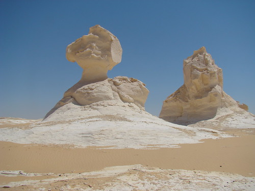Roca fungiforme o en seta - White Desert (Egipto) - 04