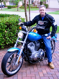 Jonathan on his new Sportster | by jonhen01