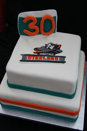 Steelers Birthday Cake | Two Tier cake in the 2010/11 ...