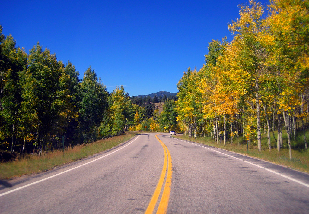 Fall Colors | Colorado State Highway 165. Going northward ...
