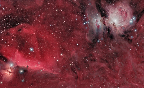 Widefield Orion's Sword in HaRGB | by SteveL UK