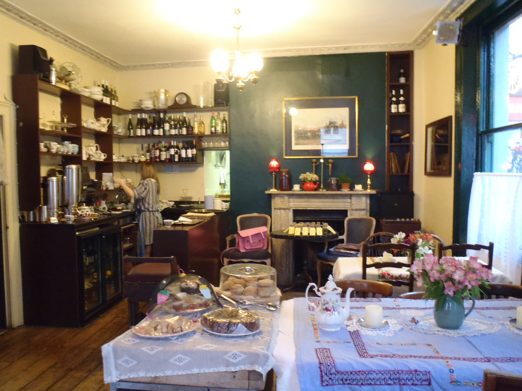 Secret Tea Room Derbyshire